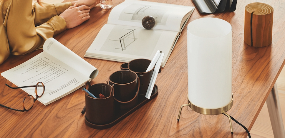 Paul McCobb Planner Table Lamp Lifestyle