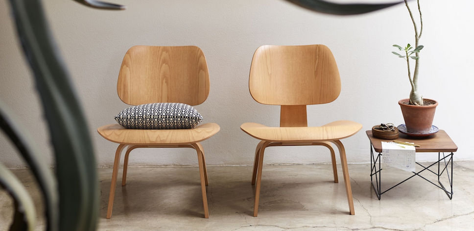 Awe Inspiring Vitra Lcw Eames Lounge Chair Plywood Group Design Uwap Interior Chair Design Uwaporg