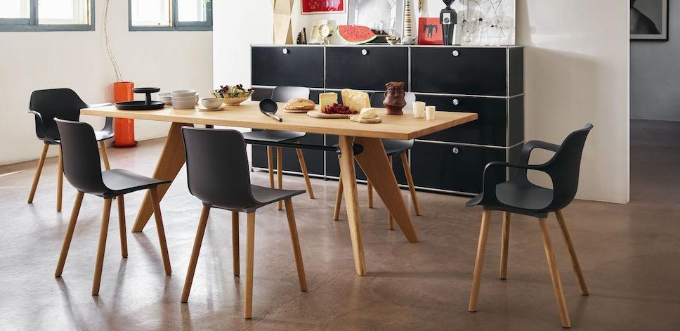 Hal Morrison ChairArmchair design Jasper Vitra Wood knwXP0N8O