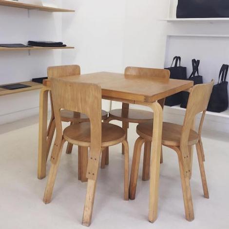 Artek chair 66 design alvar aalto for Chaise alvar aalto