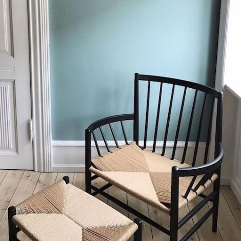 Astonishing Fdb Mobler J82 Lounge Chair Design Jorgen Baekmark Bralicious Painted Fabric Chair Ideas Braliciousco