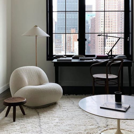 Gubi Pacha Lounge Chair Design Pierre Paulin