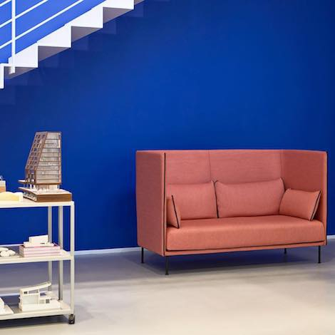 Hay High Backed Silhouette Sofa Design Gamfratesi