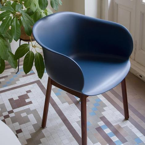 Amp Tradition Elefy Chairs Wooden Base