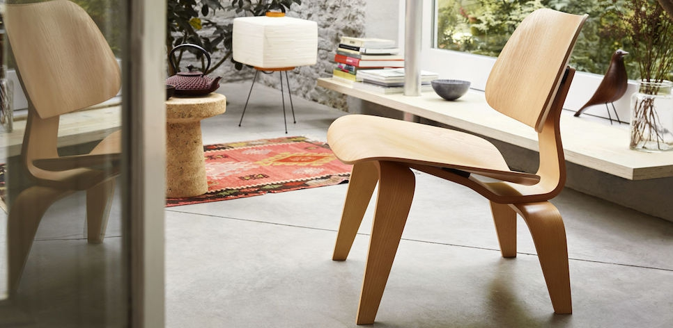 Amazing Vitra Lcw Eames Lounge Chair Plywood Group Design Uwap Interior Chair Design Uwaporg