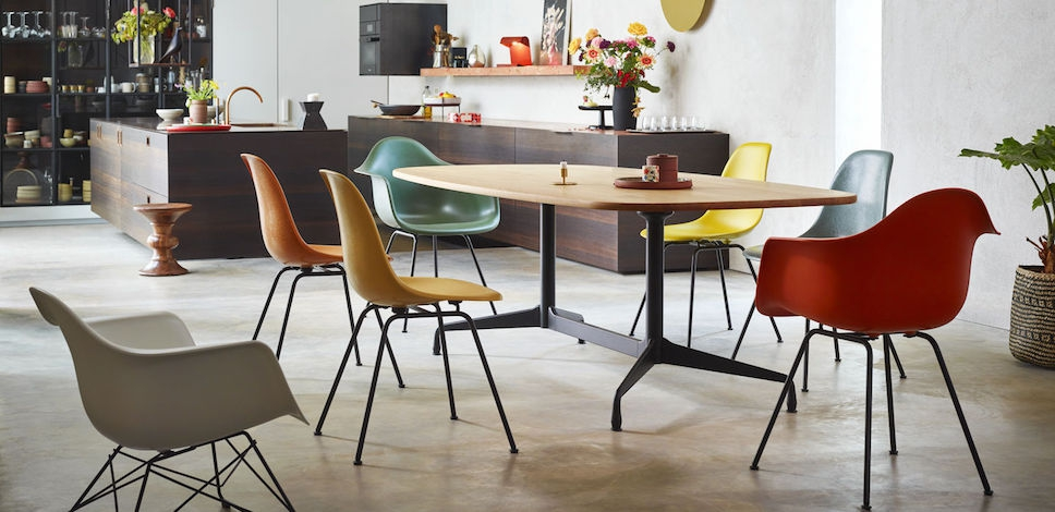Remarkable Vitra Eames Fiberglass Chairs Dsx Design Charles Ray Pabps2019 Chair Design Images Pabps2019Com