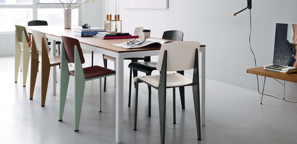 Vitra standard sp chair jean prouv - Jean prouve chaise standard ...