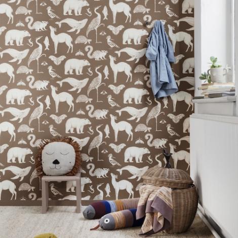 Ferm Living Katie Scott Wallpapers Design Katie Scott 2019