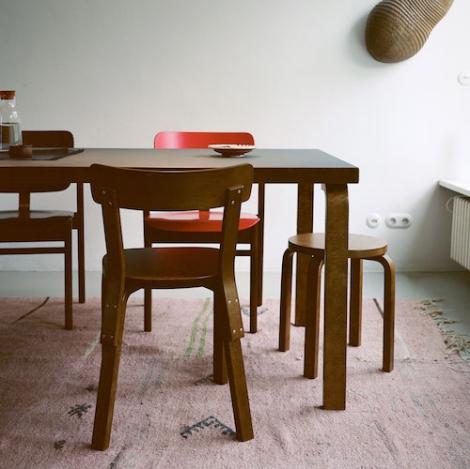 Artek Alvar Aalto Rectangular Tables Design Alvar Aalto 1935