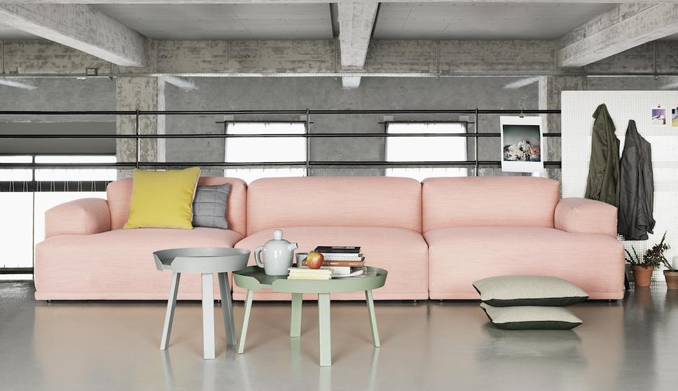 Muuto connect sofa canap modulable for Copie mobili design