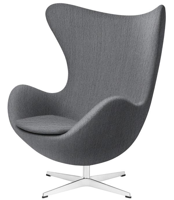 Egg Chair With Fabric Fritz Hansen