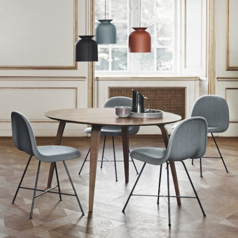 Brilliant Gubi Gubi Dining Tables Round Rectangular Elliptical Gmtry Best Dining Table And Chair Ideas Images Gmtryco