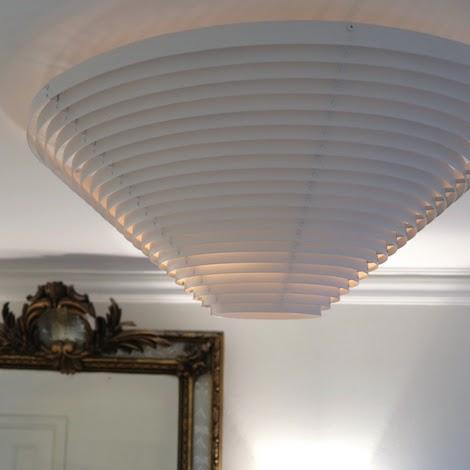 Artek - A622A ceiling lamp - design Alvar Aalto
