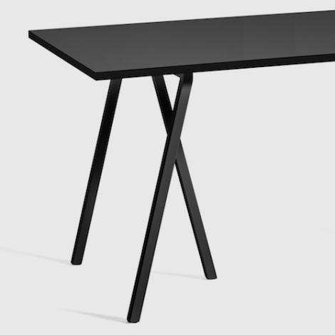 Table Loop Stand Hay