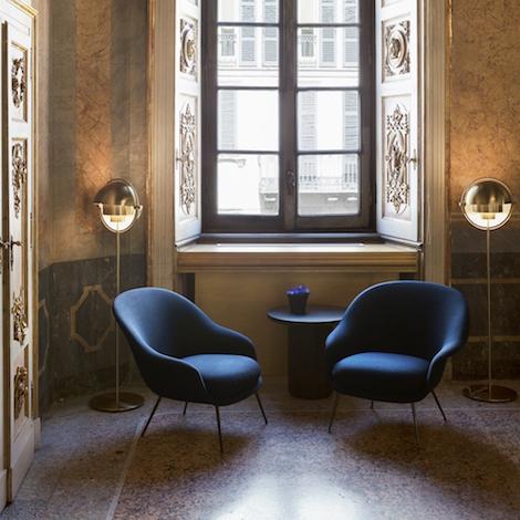 Gubi Bat Lounge Chair Design Gamfratesi