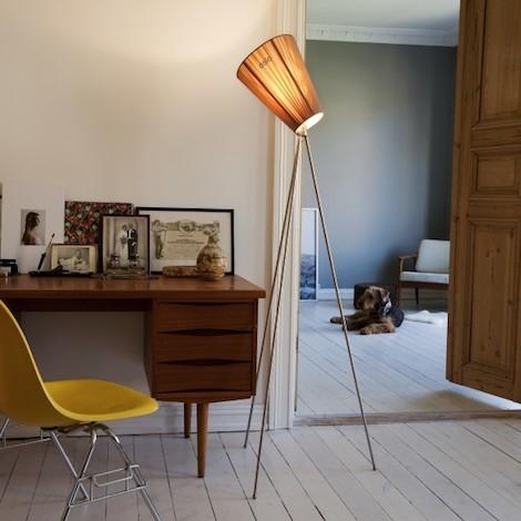 Northern Oslo Wood Floor Lamp Design Ove Rogne 2015