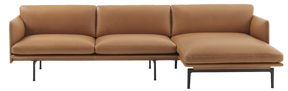 Excellent Muuto Canape Outline Sofa Chaise Longue Anderssen Voll Ncnpc Chair Design For Home Ncnpcorg