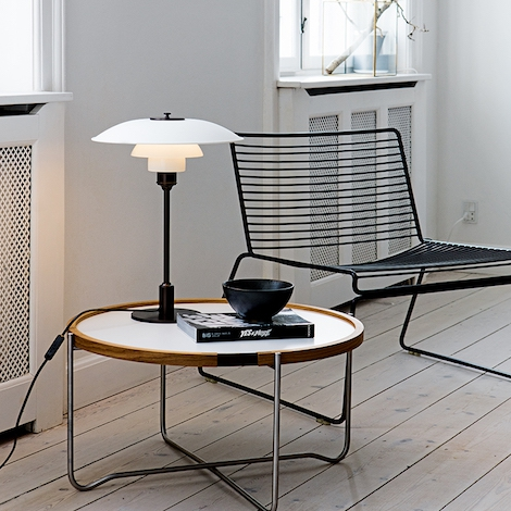 louis poulsen ph 3 2 table lamp poul henningsen. Black Bedroom Furniture Sets. Home Design Ideas