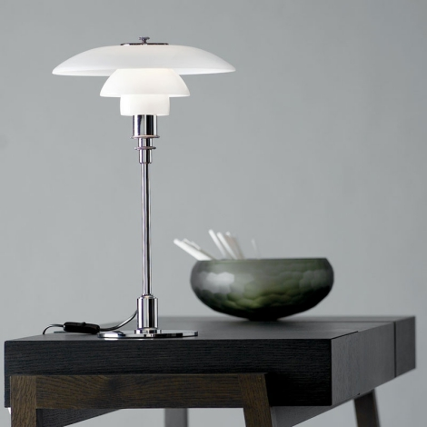 louis poulsen lampe de table ph3 2 poul henningsen. Black Bedroom Furniture Sets. Home Design Ideas