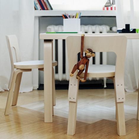Artek Children S Tables Chair And Stool Alvar Aalto