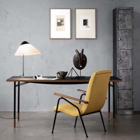 Moderne lampe de table Opala, Hans Wegner - Pandul WA-75