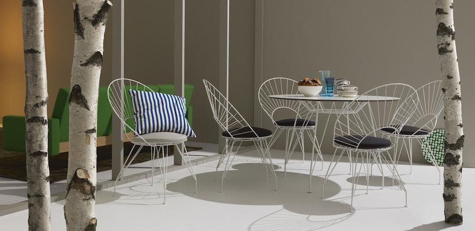 Swedese D 233 Sir 233 E Outdoor Chair Amp Table Design Yngve