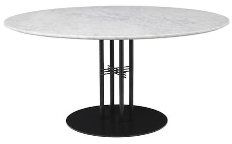 Gubi table de repas ts column design gamfratesi for Table 52 botswana