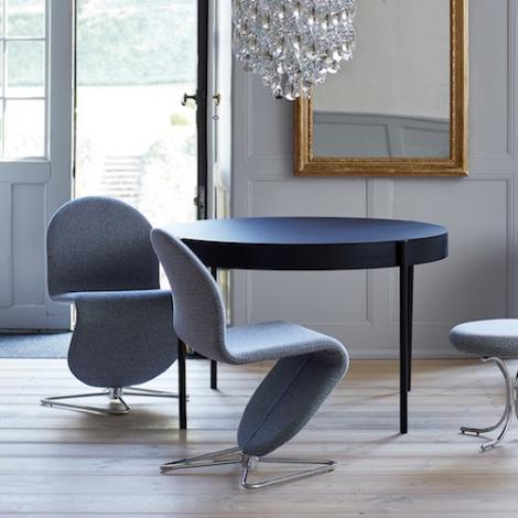 System 123 Dining Chair Design Verner Panton Verpan