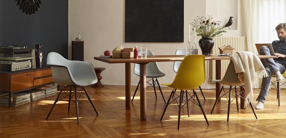 Vitra Eames Plastic Side Chairs DSW – design Charles & Ray