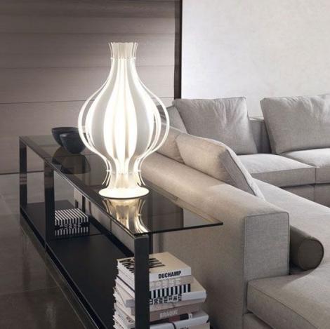 onion suspensions et lampe de table verpan verner panton. Black Bedroom Furniture Sets. Home Design Ideas