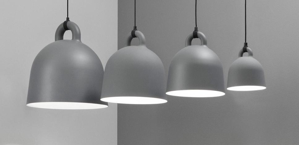 Alle nye Normann Copenhagen – lampe BELL – design Rikke Hagen KA-56