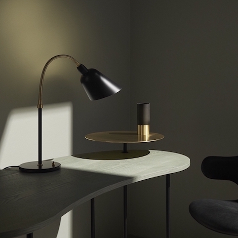 tradition lampe de table bellevue aj8 arne jacobsen. Black Bedroom Furniture Sets. Home Design Ideas
