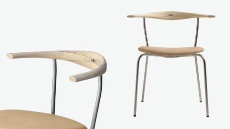 chaise hans j wegner pp701 pp m bler. Black Bedroom Furniture Sets. Home Design Ideas
