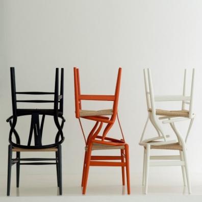 Wishbone chair ch24 painted color carl hansen son - Wishbone chair canada ...