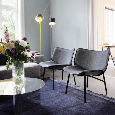 Hay Lounge Stoel.Hay Dapper Lounge Chair