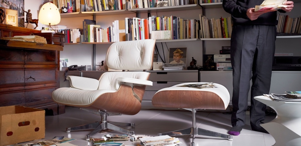Eames Lounge Chair Fauteuils.Vitra Eames Lounge Chair Design Charles Et Ray Eames 1956
