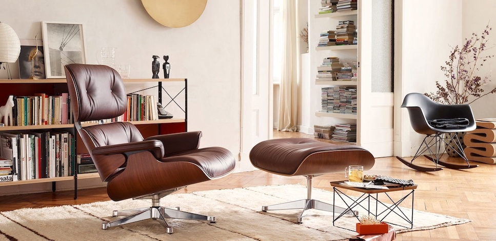 Astonishing Vitra Eames Lounge Chair Design Charles Et Ray Eames 1956 Pabps2019 Chair Design Images Pabps2019Com