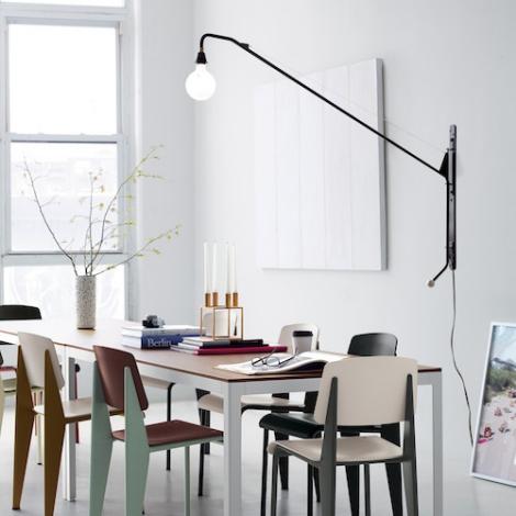 vitra applique potence jean prouv. Black Bedroom Furniture Sets. Home Design Ideas