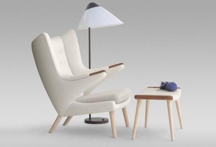 pp19 teddy bear chair design hans wegner pp m bler. Black Bedroom Furniture Sets. Home Design Ideas