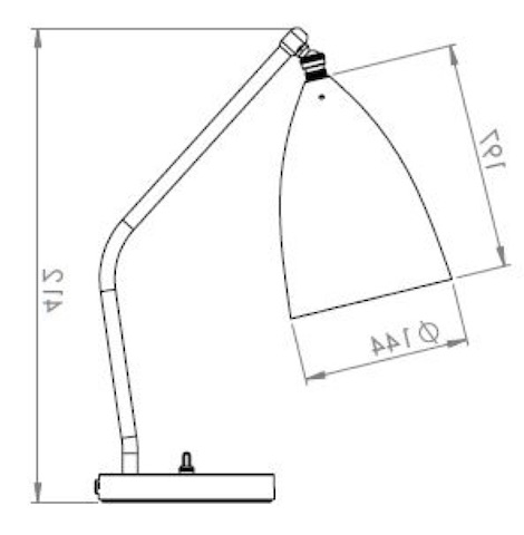 Gubi Gr 228 Shoppa Table Lamp Design Greta Magnusson Grossman