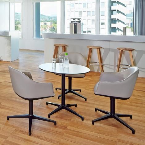 Vitra Softshell Chair Swivel Base Design Ronan Et