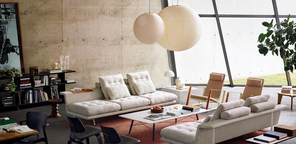 Vitra Akari Pendants 75a 120a 75d 100d Design Isamu Noguchi