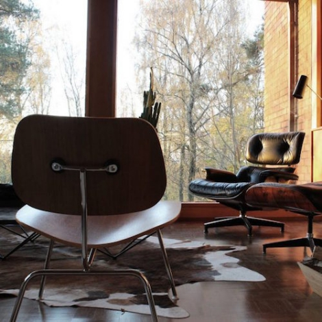 Vitra Lcm Metal Lounge Chair Eames Charles And Ray