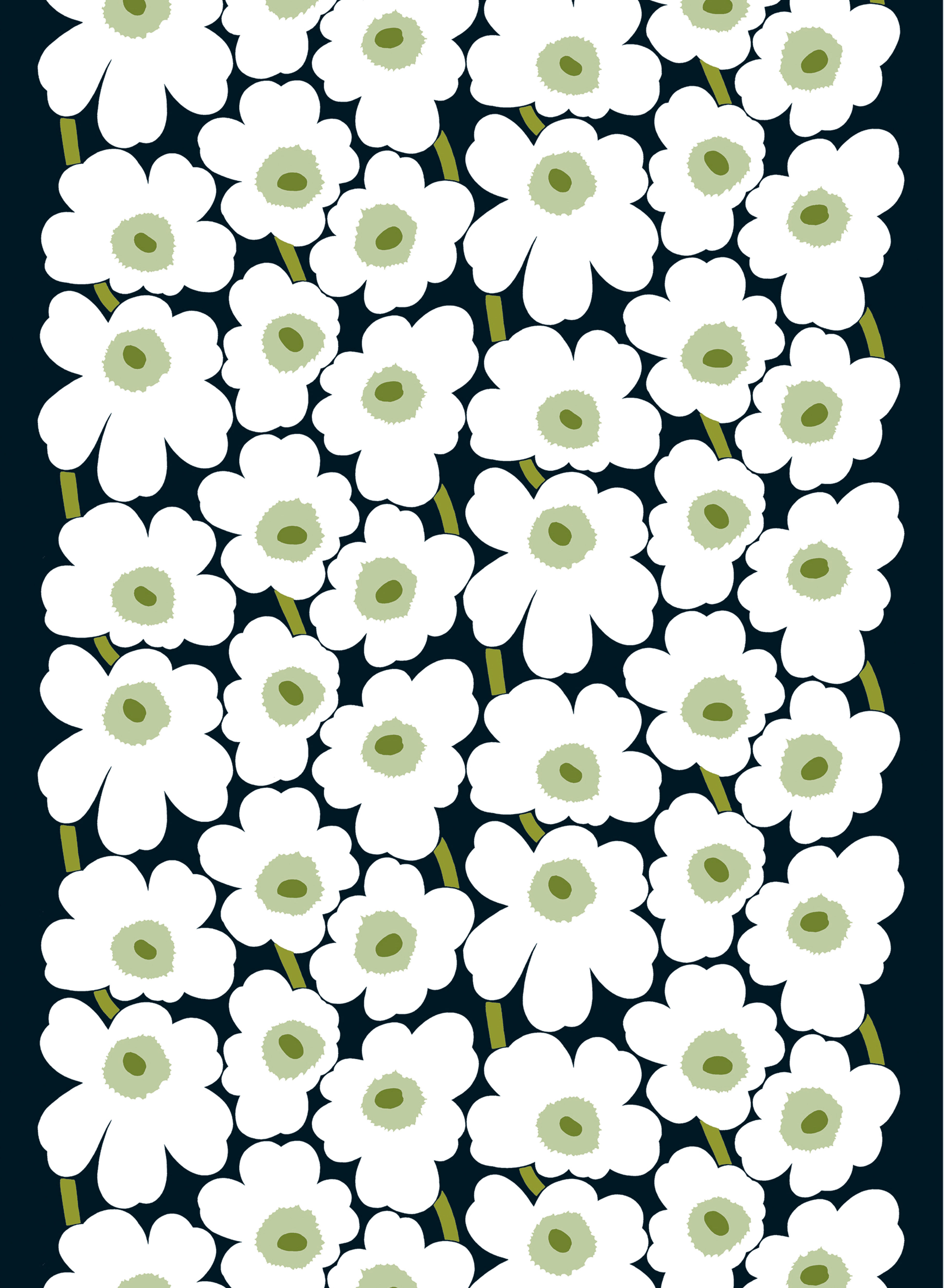 Marimekko – Pieni Unikko cotton & coated cotton