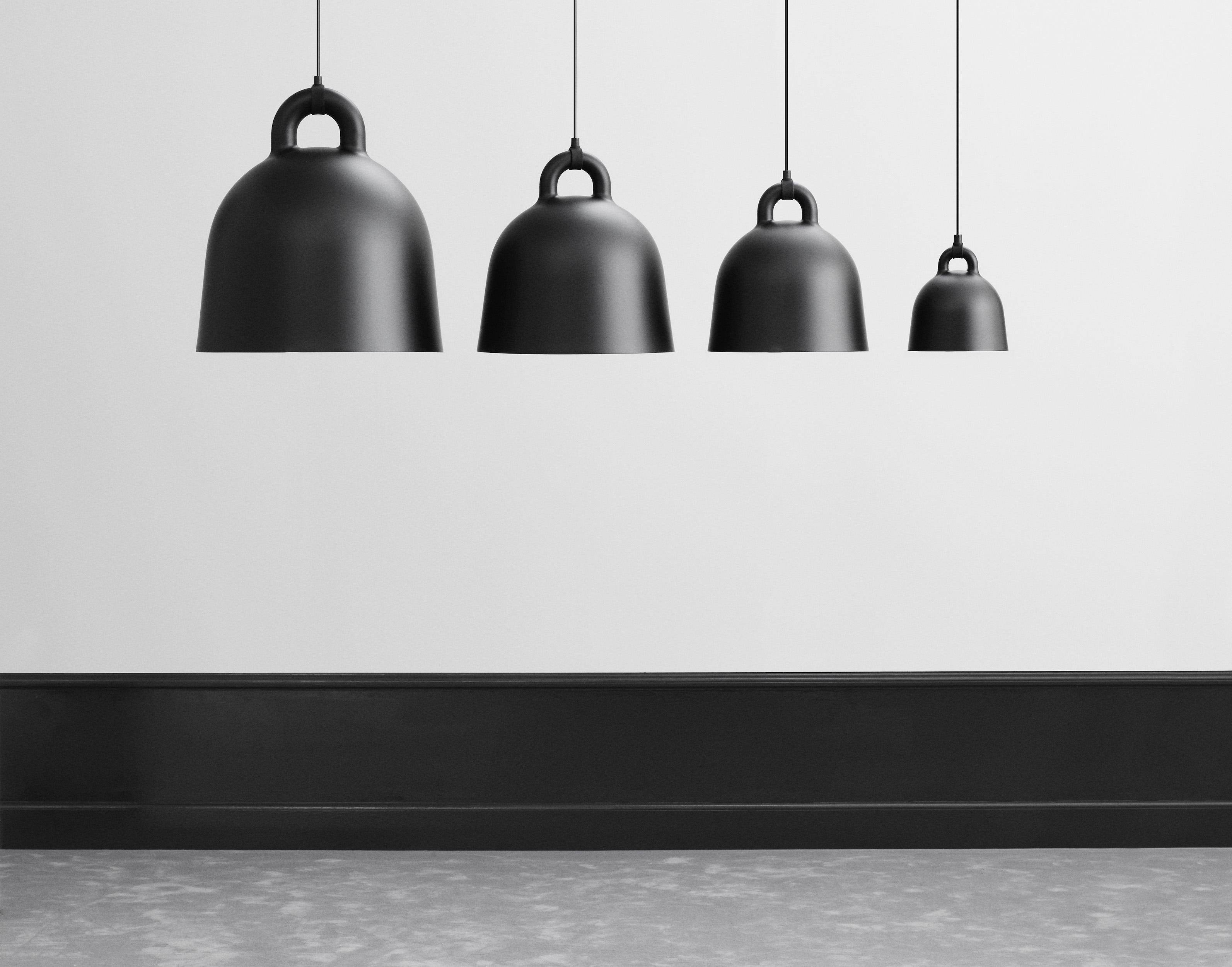 normann copenhagen bell lamp design rikke hagen. Black Bedroom Furniture Sets. Home Design Ideas