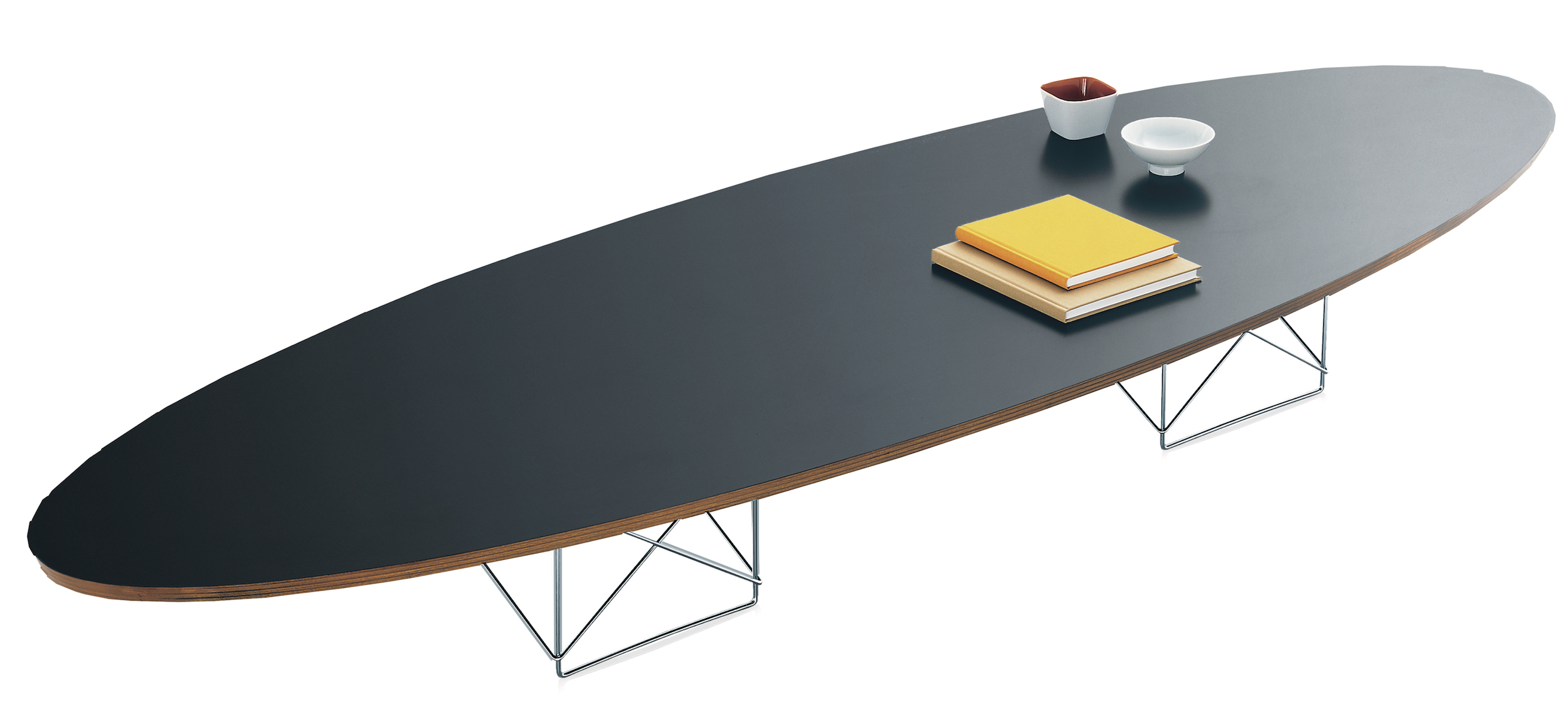 Eames Surfboard Coffee Table.Vitra Elliptical Table Etr Design Charles And Ray Eames 1951