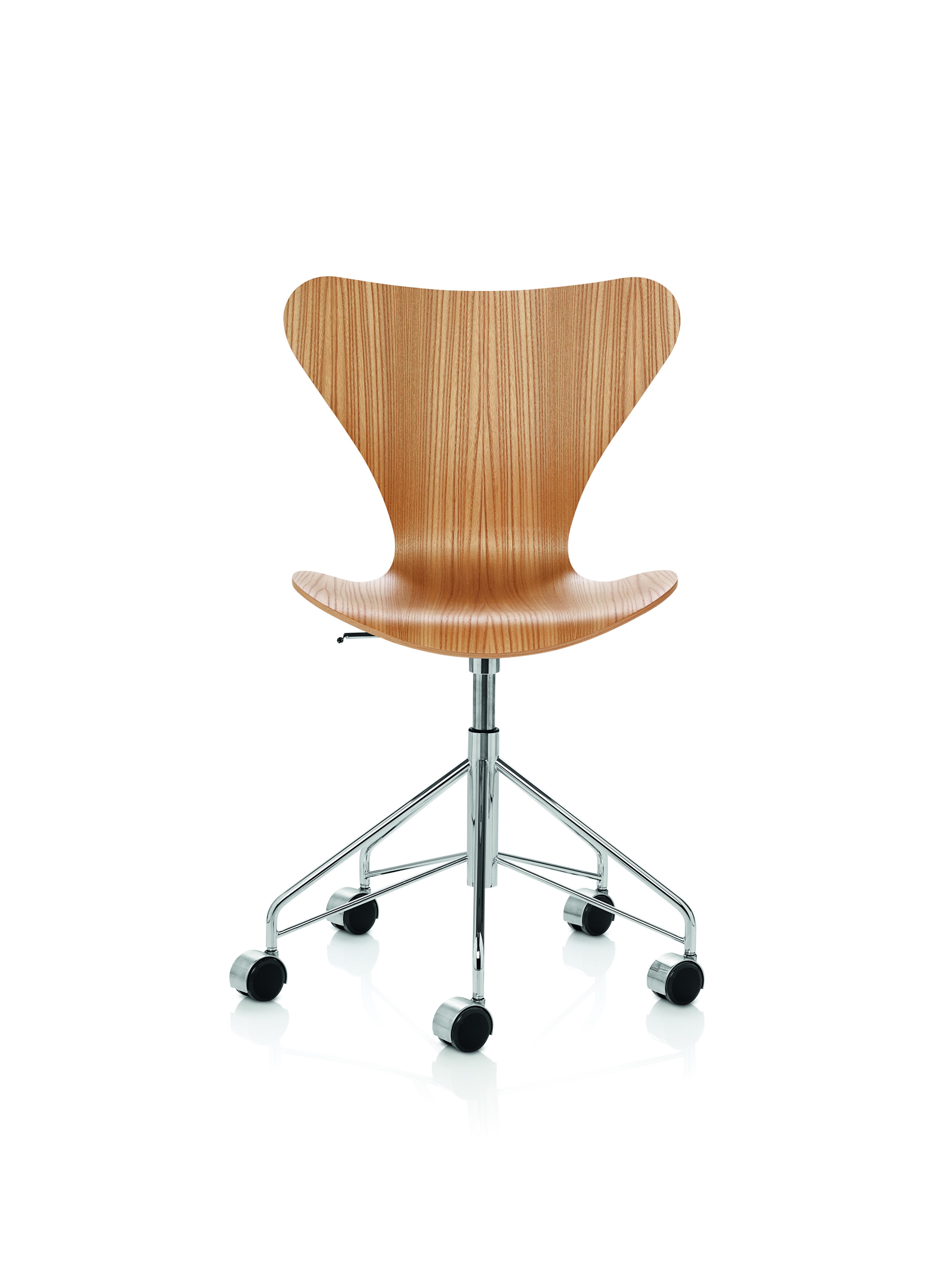 fritz hansen - chaise pivotante série 7 - arne jacobsen - Chaise Serie 7