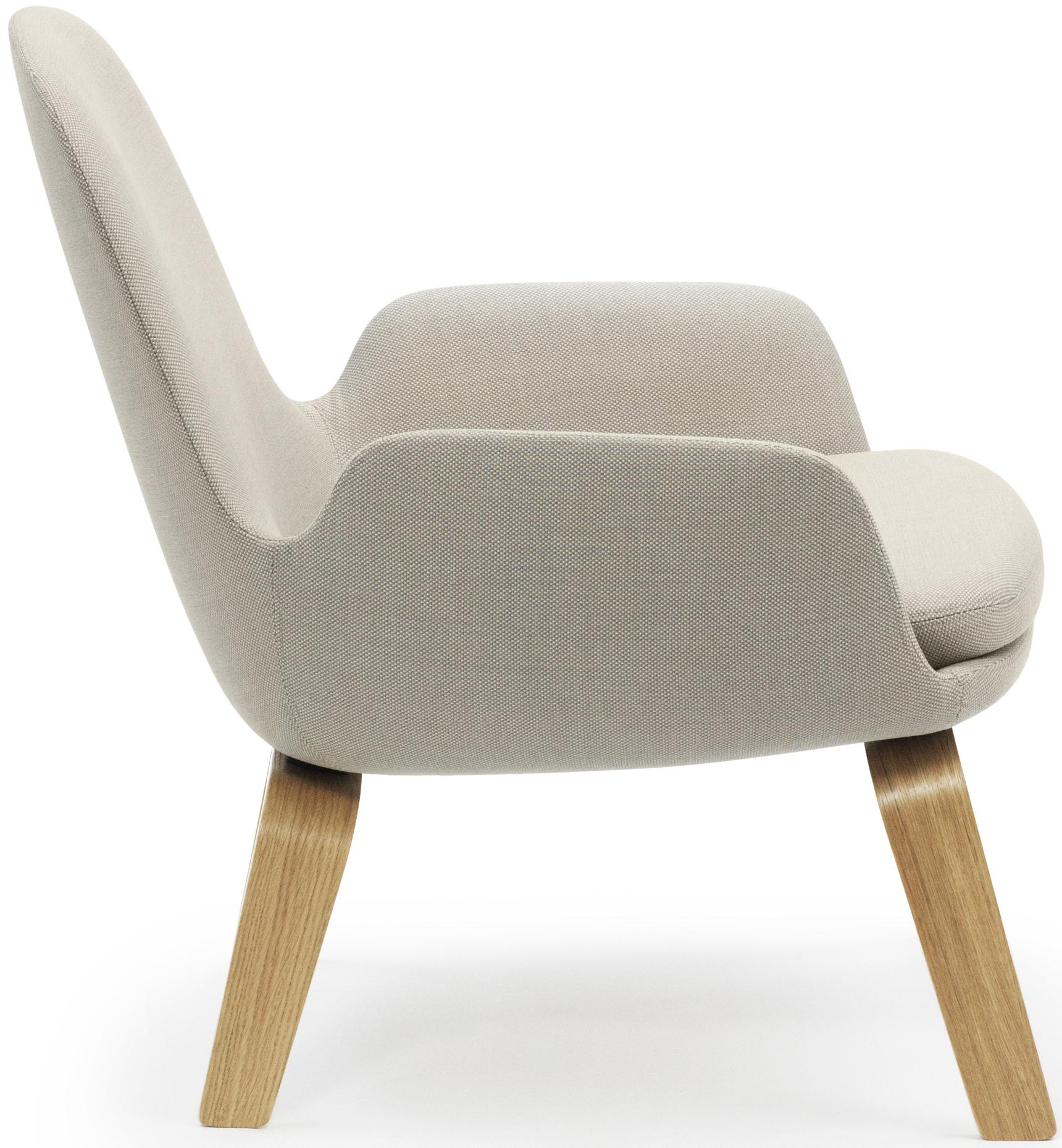 Normann Copenhagen – fauteuil Era Lounge Low, pieds bois