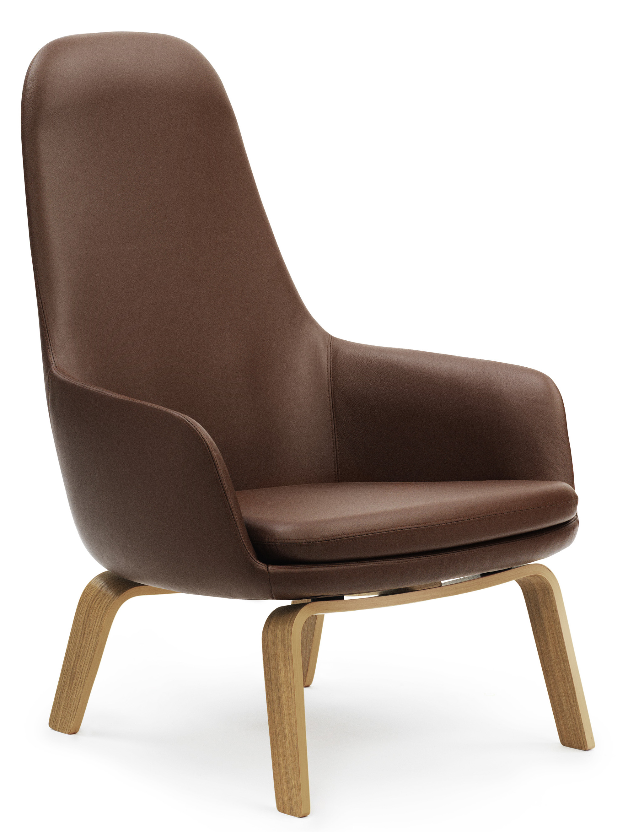 Normann Copenhagen Era Lounge Chair High Back Wooden