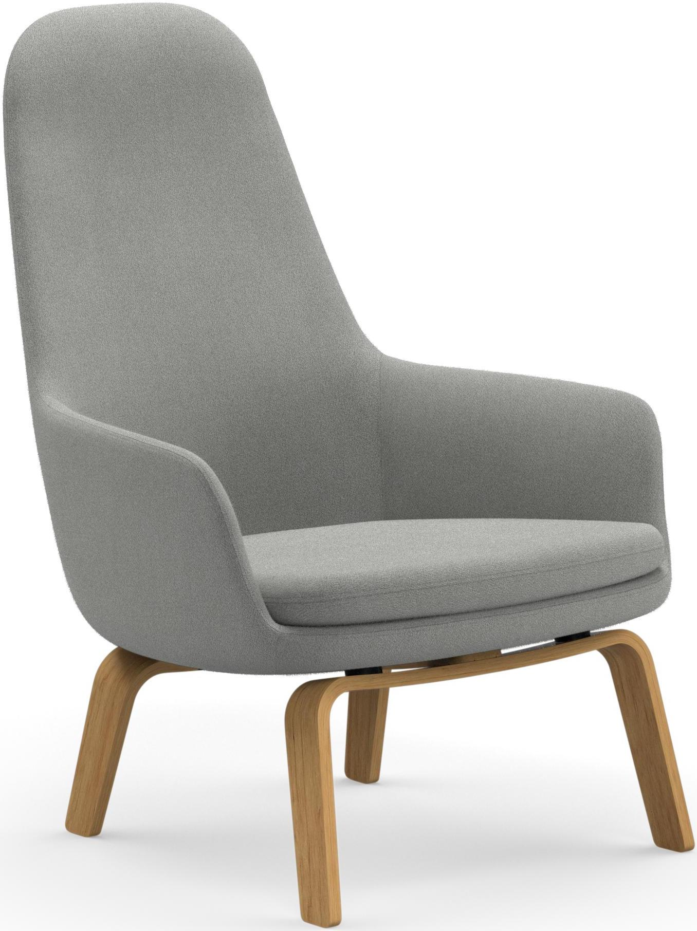 Normann copenhagen fauteuil era dossier haut pi tement for Scandic design